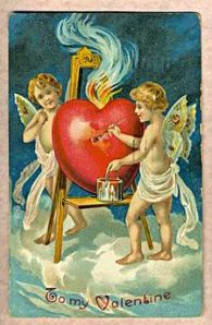 Antique Valentine - 1909