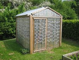 How about a plastic bottle greenhouse?