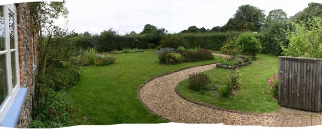 The Farmhouse Garden at Gressenhall Farm and Workhouse Museum
