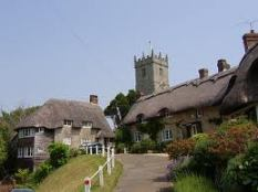 Godshill, Isle Of Wight - one of the few remaning 'chocolate box' villages preserved in aspic...