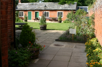 The refurbished 'Education Garden'
