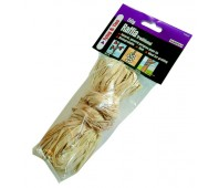 Raffia- natural product useful for slender stems and a 'natural' look- found it a bit fiddly to use myself.