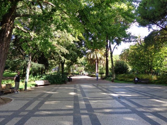 Entrance to the Estrela garden