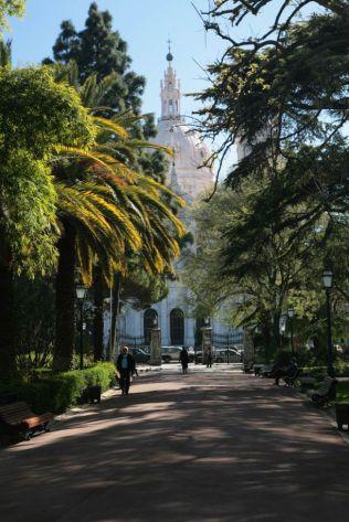 Estrela Park - main path and Basilica