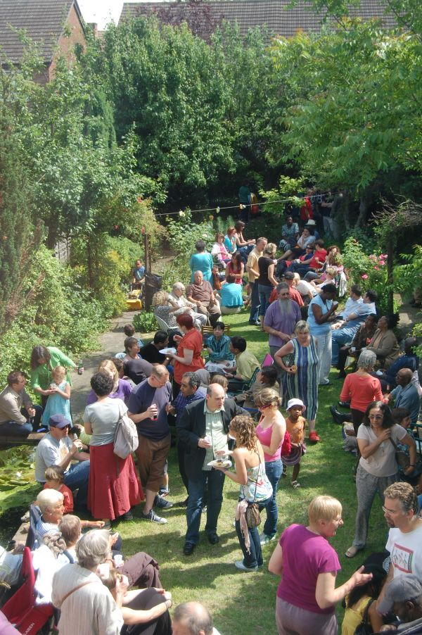 Hold a Garden Party to celebrate and promote your plot