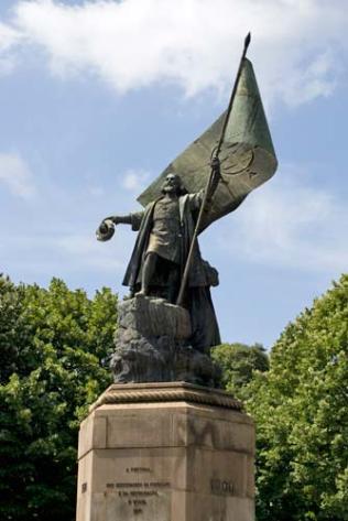 Junquero statue