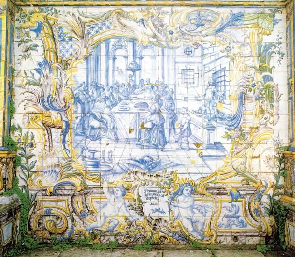 Azulejos at Quinta dos Azulejos!