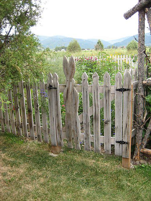 PicPost: Rabbit - proof fence