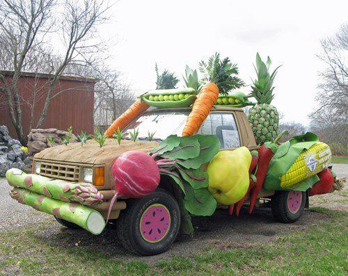 Picpost: Veg truck