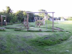 Oakes FF- clamber clourse in older children's area
