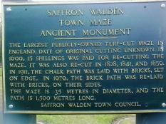 Saffron Walden's Turf Maze...
