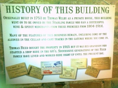A little history of the Reed's building...