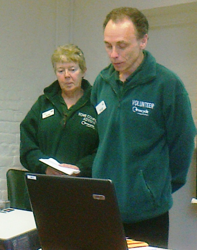 Russell and Mary Baylin, experienced Master Composters