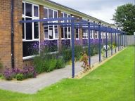 School- Pergola and 'Nectar Bar'