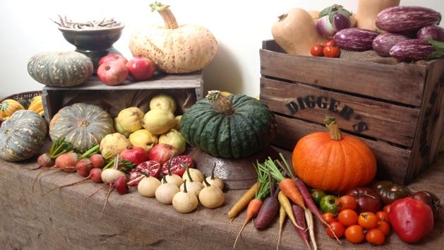 Heritage Veg- keeping the old varieties going