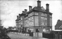 Overstrand Hotel- it slipped over the cliffs in the 1950's