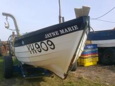 Fishing boats, Overstrand