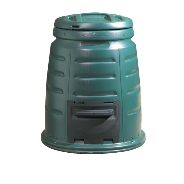 Plastic Dalek compost bin