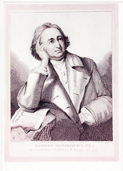 Robert Marsham - portrait by Zofany
