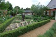 Cherry Tree Cottage Garden- vegetable beds