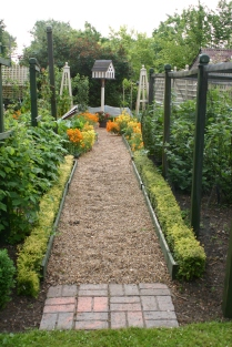 Entrance to the Kitchen Garden