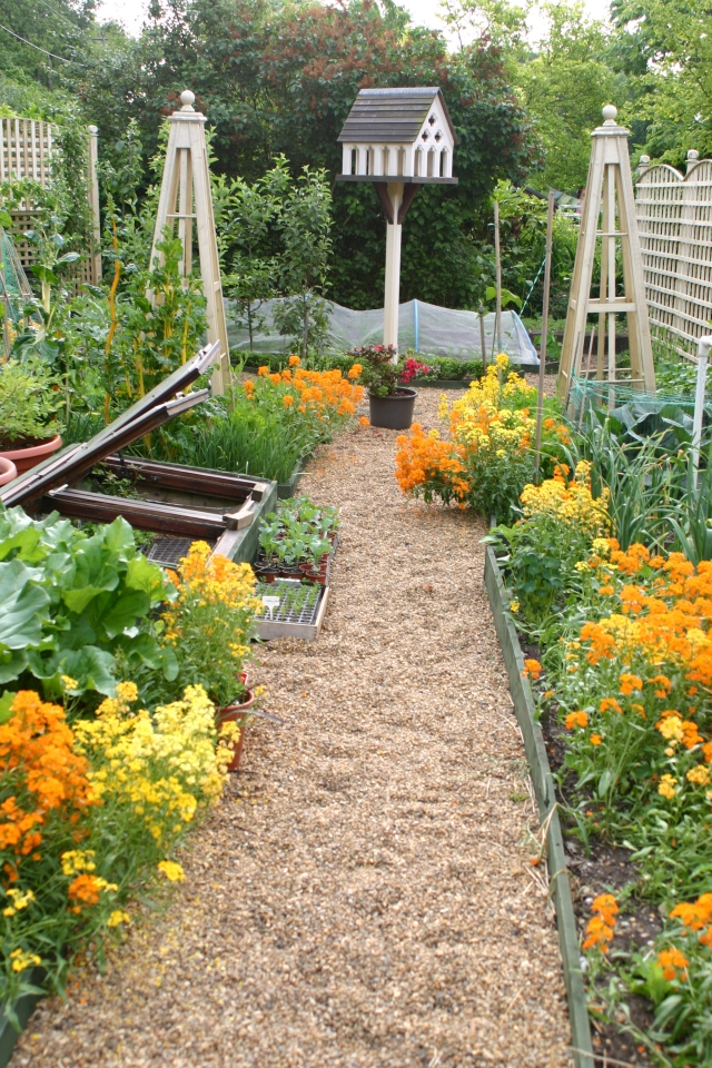 The Kitchen Garden at Old School Garden