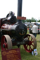 Steam traction engine from yesteryear