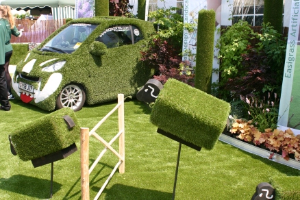 You can cover almost anything with artificial grass...