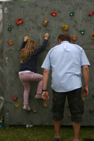Climbing wall from Whtlingham Broad Outdoor Centre