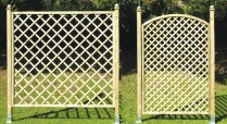 Trellis can also reduce wind speed of the wind