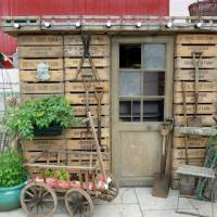 Pallets Plus -  more examples of recycled wood in the garden