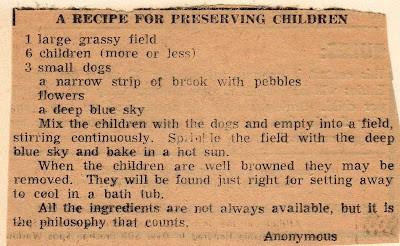 Preserving Kids