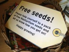 And other free seeds...