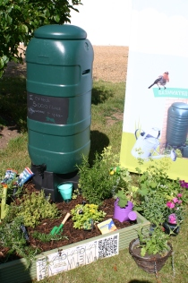 Anglian Water water saving display