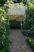 The Arbour in the Kitchen Garden