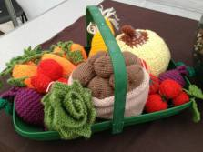 Cute knitted fruit and veg...