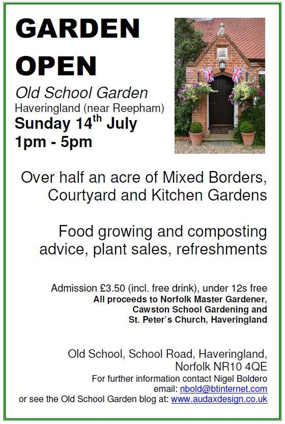 Visit Old School Garden this Sunday!