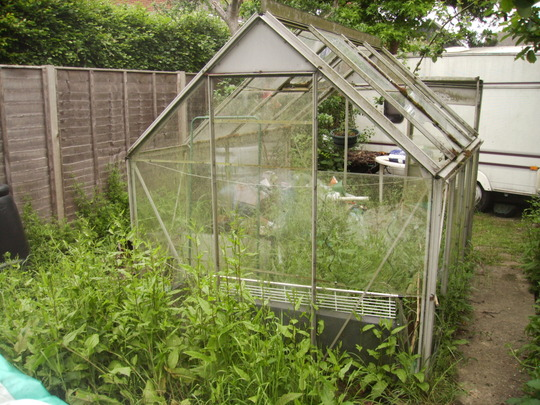 This week's questioner has been offered a second greenhouse...an offer too good to be refused?