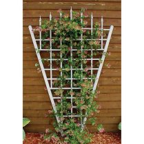 Simple Trellis is fine for small areas and lighter plants