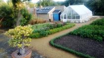Beautiful kitchen garden