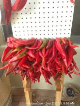 Chilli pepper drying rack