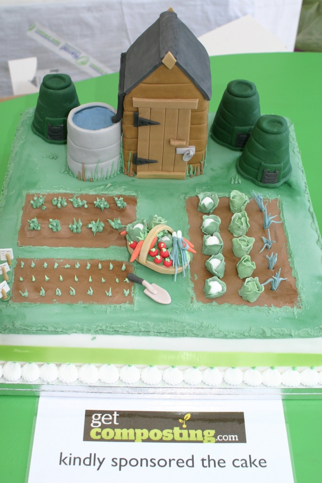 One of two Cakes specially made to celebrate the conference-a masterly effort from a Norfiolk Cake maker!
