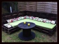 pallet salon de jardin