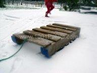 Pallet sledge