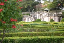 The Baroque staircase beyond formal Box hedging