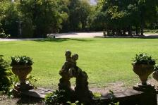 open grass areas...