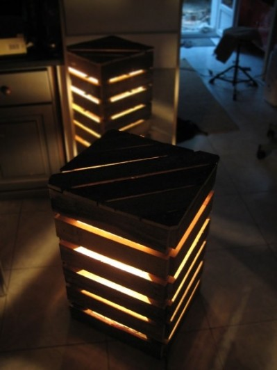 Light box from pallets