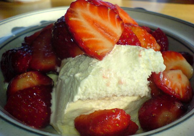 Strawberries and Cream- the tatse of an English summer...