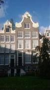 Sunlit houses