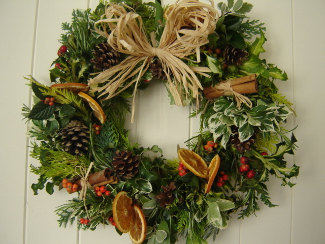 Make your own Christmas Wreath?